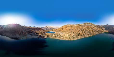 Lago di Garzone und Lago di San Giulian