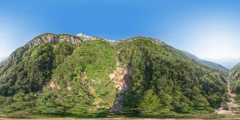 360° am Wasserfall des Höllentalbaches